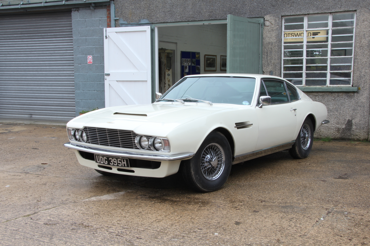 Latest News From Cotswold Classic Car Restorations - Aston martin 1970 for sale
