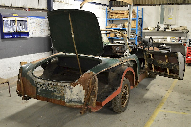 car restoration projects Ongoing updates on our favorite cars and current restoration projects.